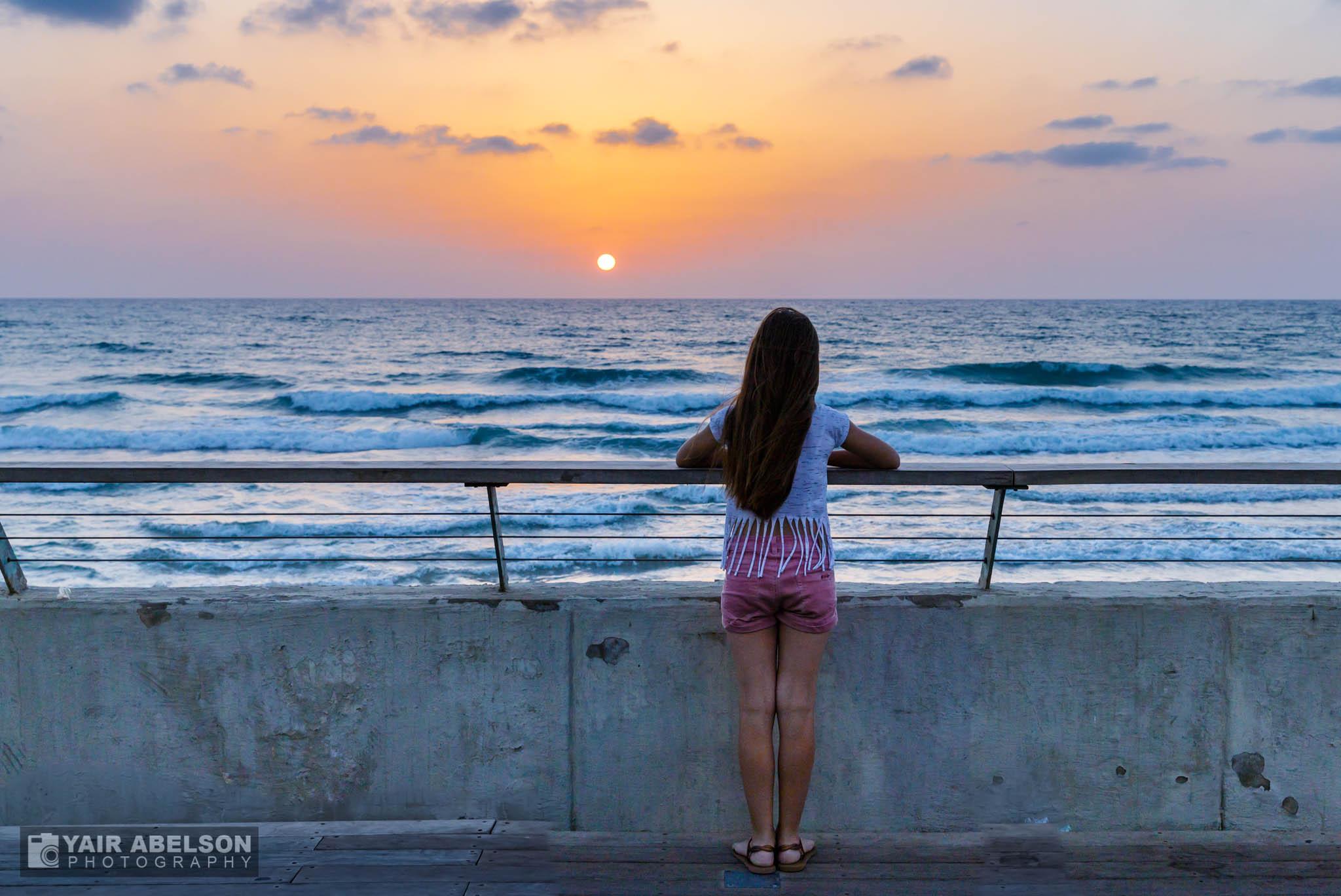 Sunset Tel Aviv
