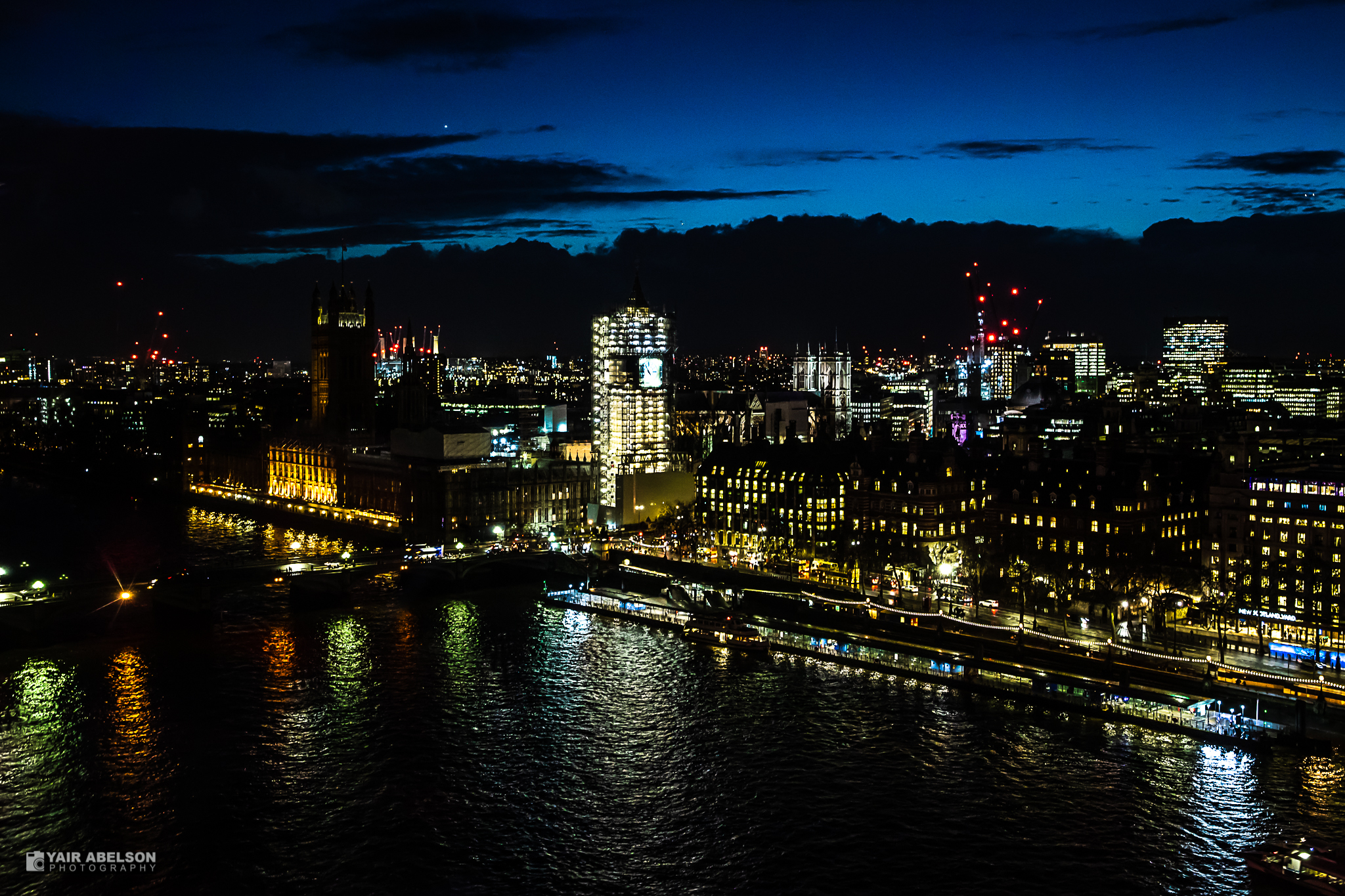 London, Sky, לונדון, לילה, night
