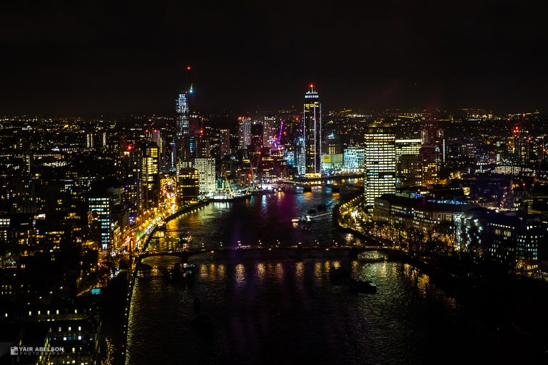 London, Night, Thames, Street, lights, לונדון